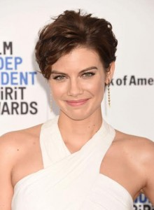 SANTA MONICA, CA - FEBRUARY 27: Actress Lauren Cohan arrives at the 2016 Film Independent Spirit Awards on February 27, 2016 in Santa Monica, California.(Photo by Jeffrey Mayer/WireImage)