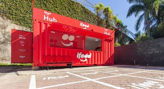 iFood instala Hub no Boulevard Londrina Shopping