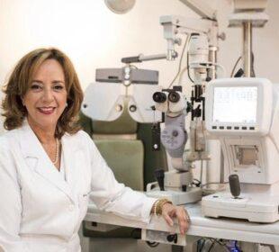 Médica oftalmologista Tania Schaefer, presidente da SOBLEC - Foto: Divulgação