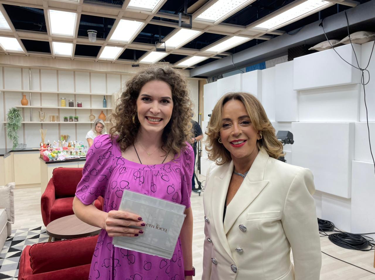 Jornalista Carol Tormena e a médica oftalmologista Tania Schaefer - Foto: Bebel Ritzmann