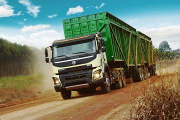 Líder na produção de açúcar, etanol e bioenergia no país, Raízen recebe 210 caminhões da Volvo