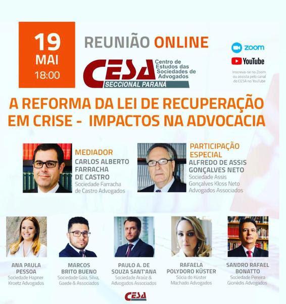 Reunião será realizada no dia 19 de maio, quarta-feira, a partir das 18h - Foto: Divulgação
