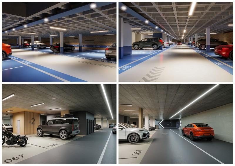Garagens com design dão sofisticação aos edifícios Plaenge