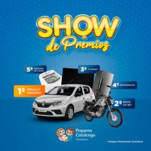 Pequeno Cotolengo Paranaense promove 'Show de Prêmios' para arrecadação de verbas