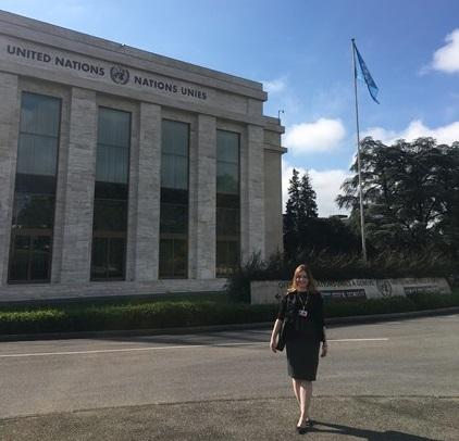 Formada em Direito, Isabel Biembengut foi jurada nas rodadas preliminares da Nelson Mandela World Human Rights Moot Court Competition