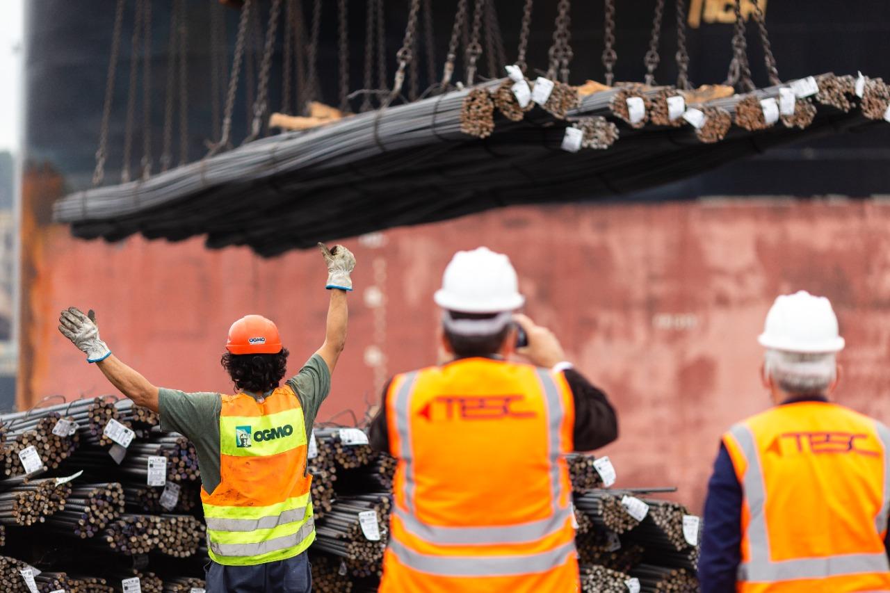 Com a importação, o custo do material para as construtoras ficará cerca de 20% abaixo do mercado nacional. Iniciativa é da CooperconSC em parceria com a CBIC
