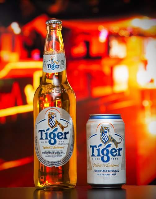 Tiger, cerveja puro malte da Heineken, chega ao Paraná este mês